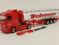 "Preview: 310079  Scania CS 20 Niederdach Chromtank-Sattelzug ""Wedemeyer"" Herpa"