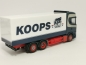 "Mobile Preview: Scania CS Hochdach Kühl Lkw ""Wolter Koops"" Herpa"
