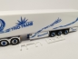 "Mobile Preview: 309967  Scania CS 20 Hochdach HD 6x2 Kühlkoffer-Sattelzug ""Trio-Trans"" Herpa"