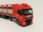 "Preview: 310031  Iveco Stralis Hi-Way XP Kühlkoffer-Sattelzug ""Nutella / Spedition Michel"" (Bayern / Wemding) Herpa"
