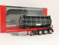 Preview: 076678 26 ft. Containerchassis mit Swapcontainer, schwarz **002 Herpa