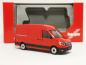 Mobile Preview: 092982 VW Crafter 2016 Kasten Hochdach, rot 002 Herpa