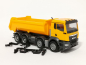 Mobile Preview: 312417 MAN TGS NN Rundmulden-LKW 4-achs, kommunalorange	Herpa