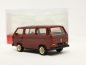 Mobile Preview: 420914 VW T3 Bus mit BBS-Felgen, weinrot Herpa