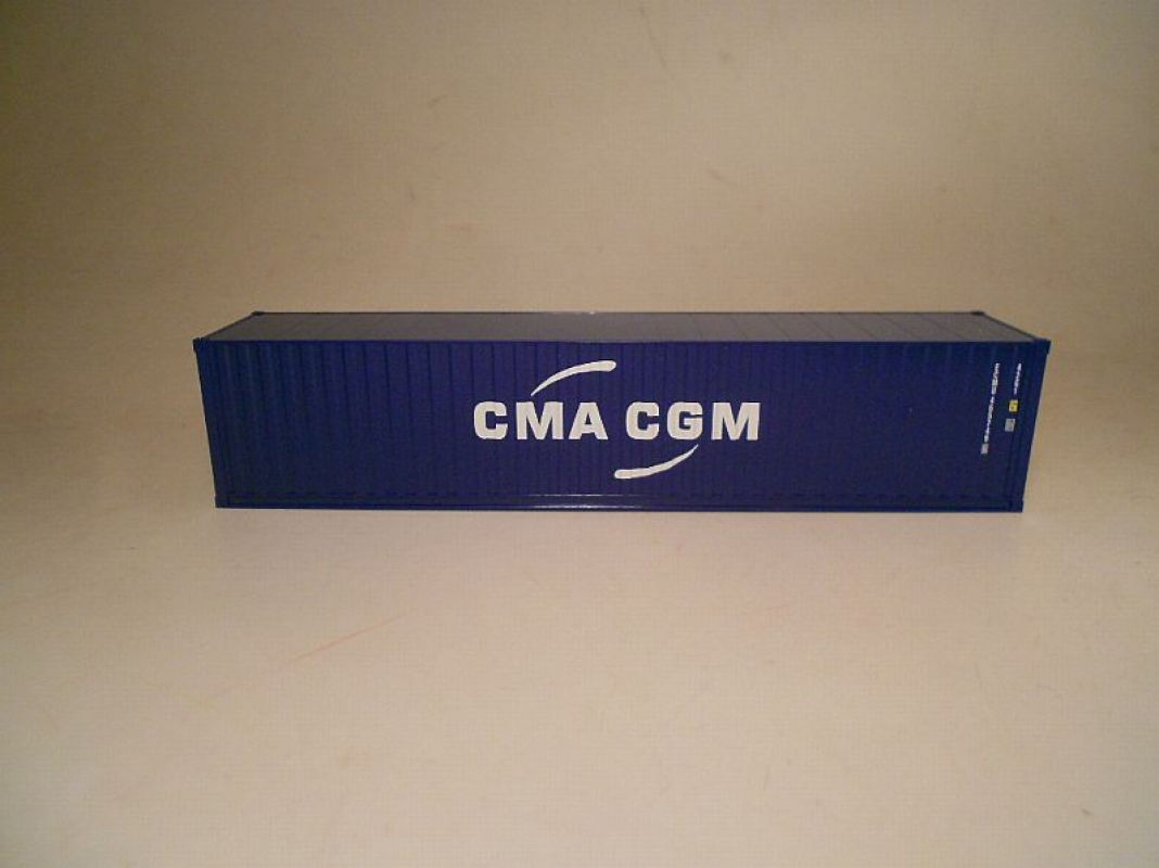 Box Container 40ft. CMA CGM Herpa
