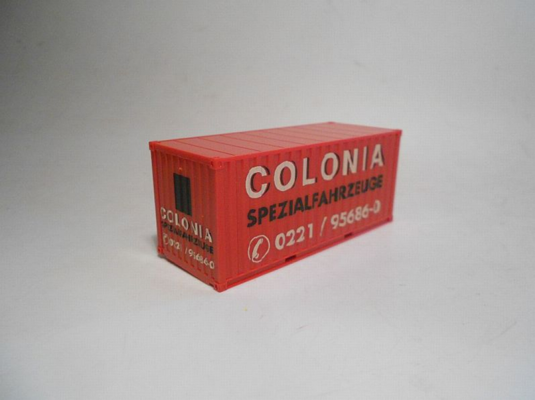 "Container 20ft. ""Colonia"" Herpa"