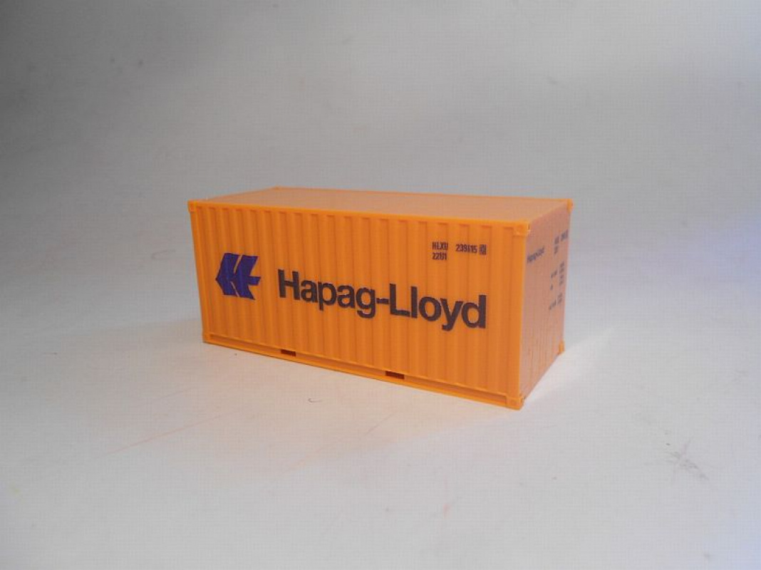Boxcontainer 20ft -Hapag-Lloyd- Herpa