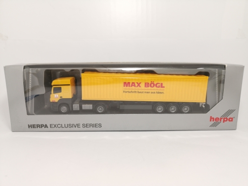 "906227 Mb Axor Container Sz ""Max Bögl"" Herpa"