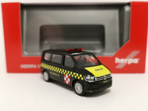 "094382  VW T6 Multivan ""Fraport Safetycar"" Herpa"