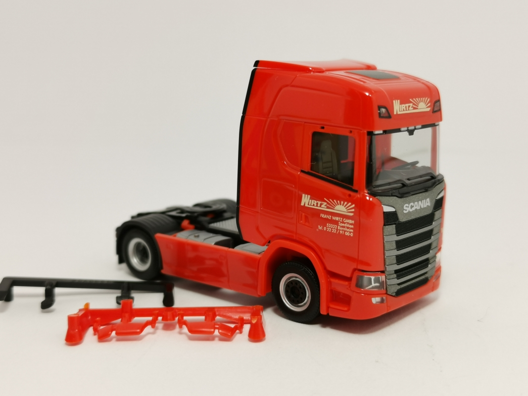 "Scania CS 20 HD  ""Wirtz"" Herpa"