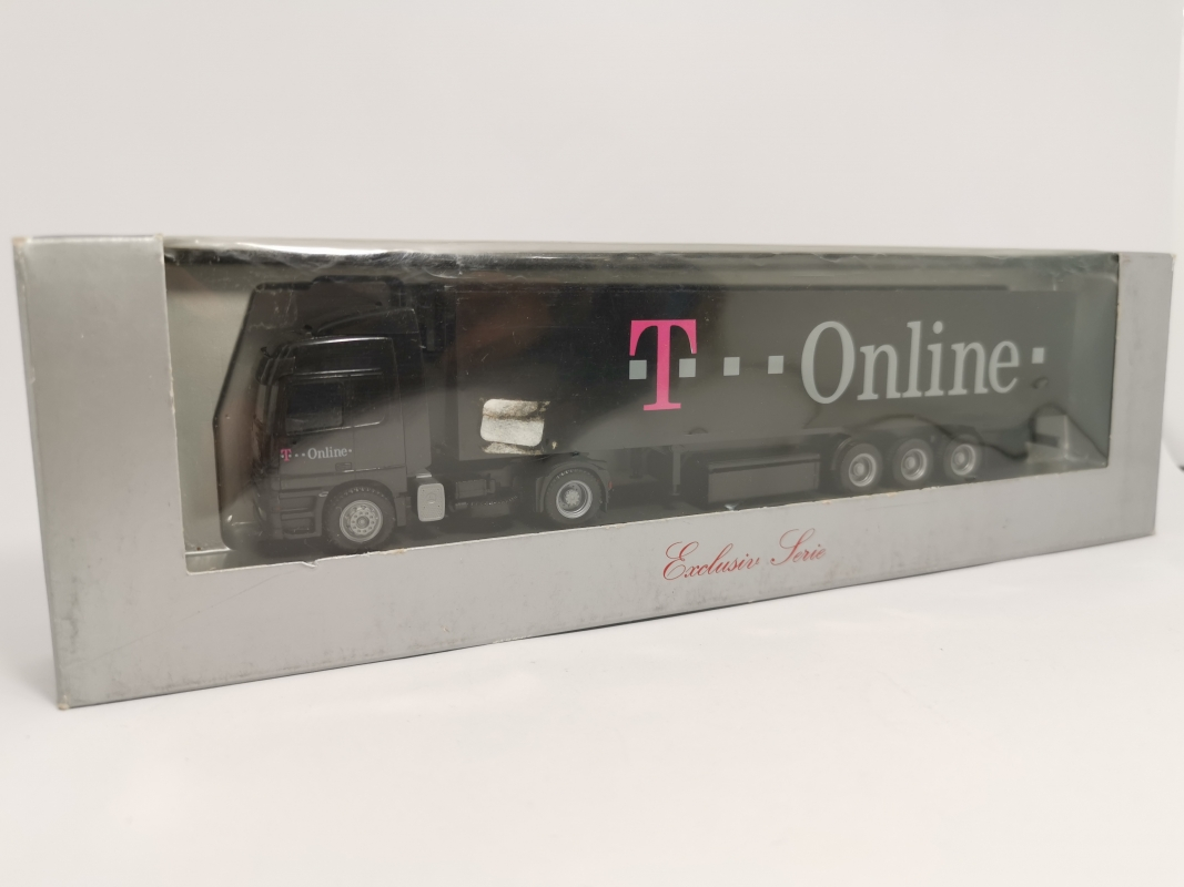 "Mb Actros Koffer Sz ""T--Online"" Herpa"