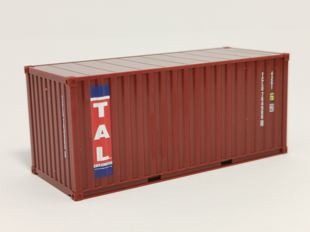 Boxcontainer 20ft -TAL- Herpa