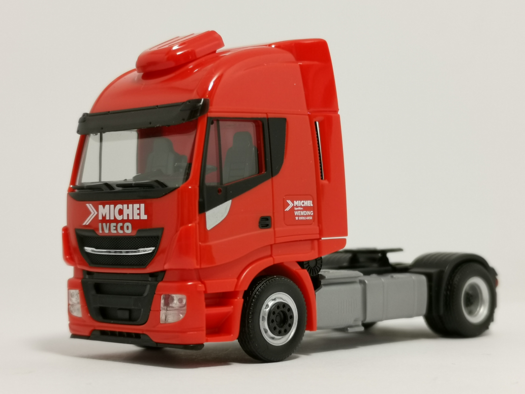 "Iveco Stralis High-Way XP ""Spedition Michel"" (Bayern/Wemding) Herpa"