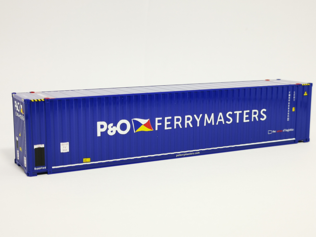 "5 ft. High Cube Container  ""P&O Ferrymaster"" Herpa"