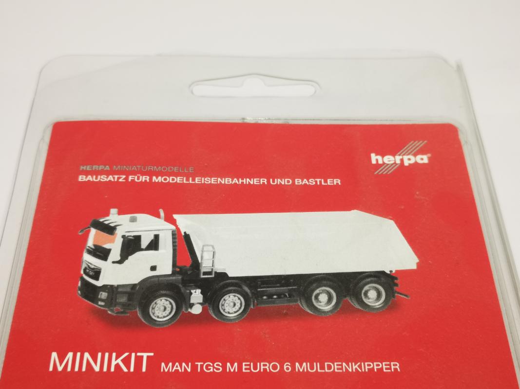 Herpa Fahrerhaus 085212-1 7417 Scania CS kurze Windleitbleche