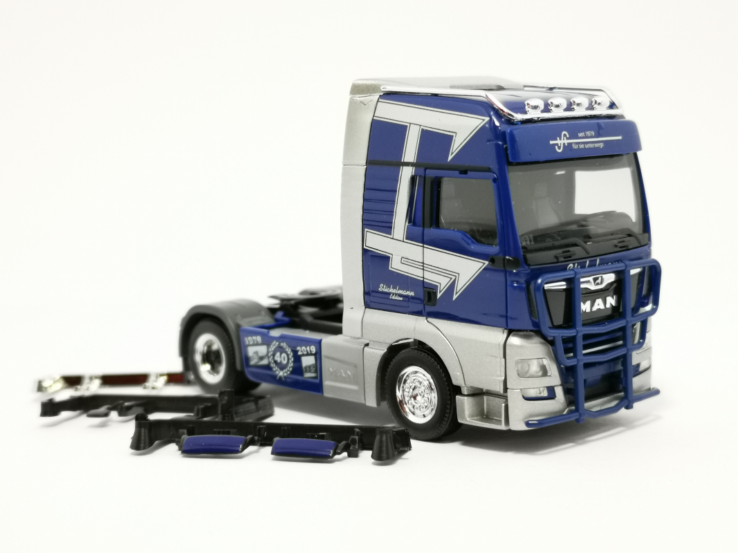 "MAN TGX XXL Zugmaschine ""Spedition Stickelmann"" Herpa"