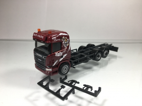 "Scania R HL ""Ziefle"" Red Viking 3a Herpa"