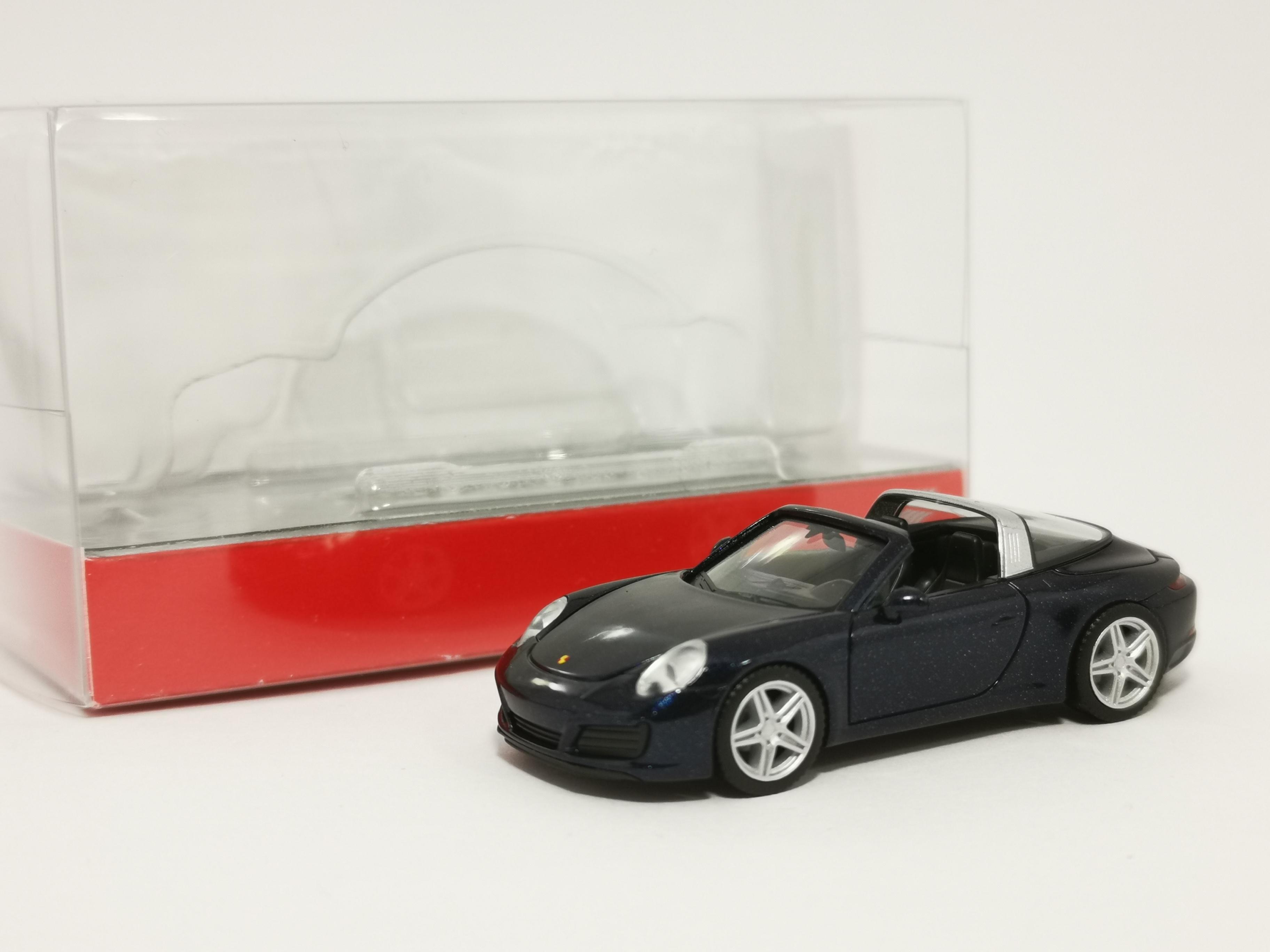 Herpa 021890-002 - Schwarz 993 1//87 Porsche 911 Turbo Neu
