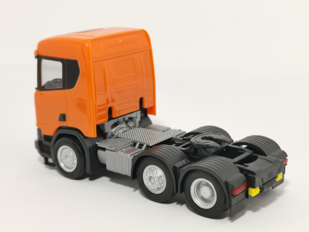 309028-002 Scania CR XT ND Zugmaschine 3-Achs, orange Herpa